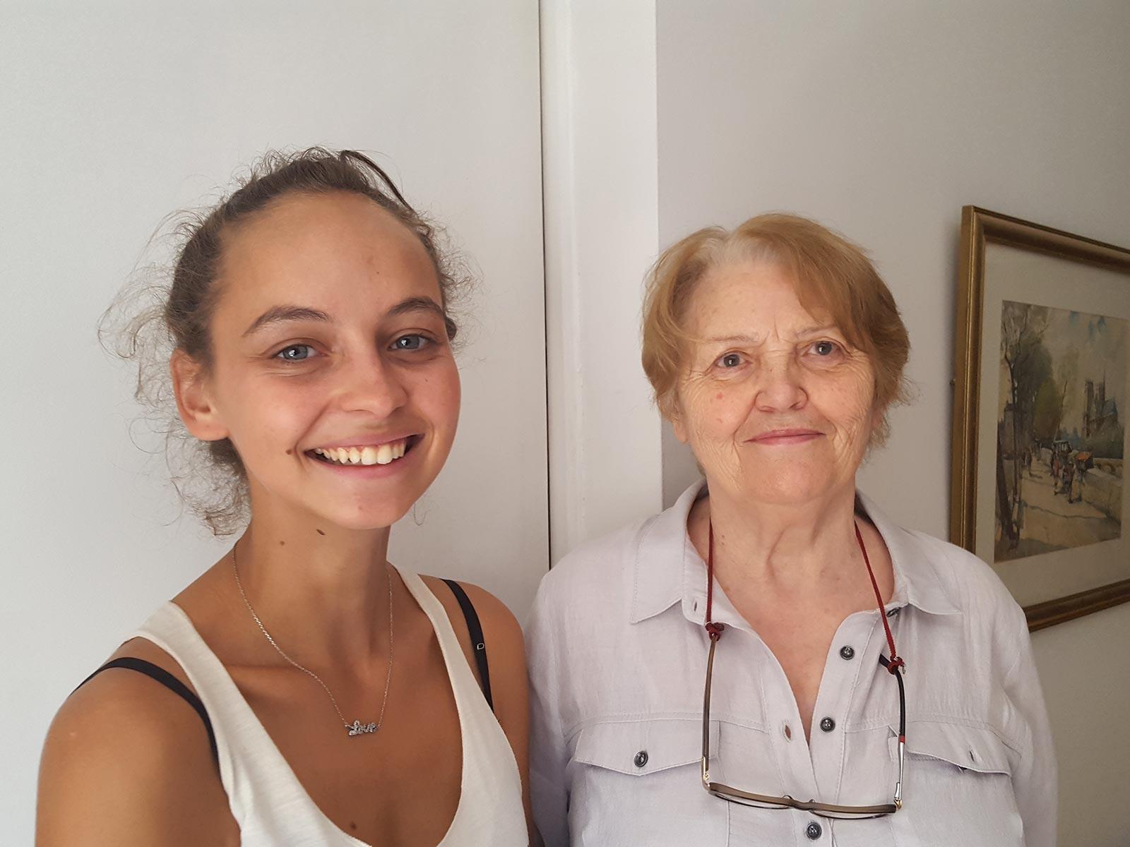 Anne-Marie & Margaux en 2019